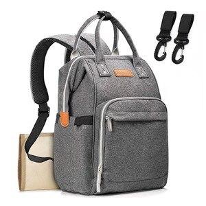 Image 2 - 기저귀 배낭 가방 엄마 대용량 가방 엄마 베이비 다기능 방수 야외 여행 기저귀 가방 베이비 케어
