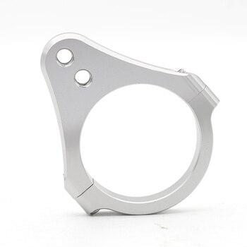 Universal 31- 54mm Aluminum Bracket Support Holder Cnc Steering Damper Motorcycle Fork