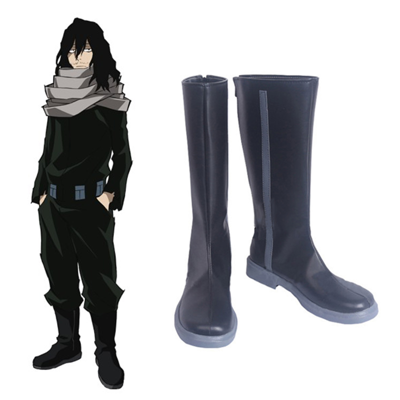 Anime My Hero Academia Cosplay Shoes Aizawa Shouta Cosplay Boots Halloween Party Boku no Hero Academia Daily Leisure Shoes