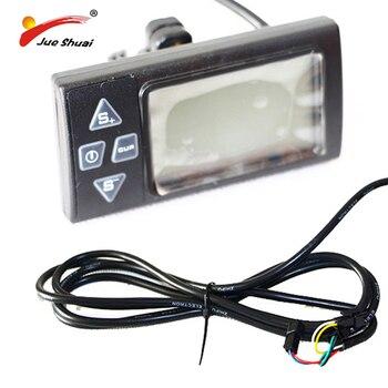 Velocímetro LCD para Bicicleta eléctrica, velocímetro con pantalla LCD, ordenador inalámbrico para...