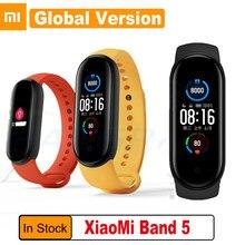 Xiaomi – Bracelet connecté Mi Band 5, Version globale, moniteur d'activité physique, Bluetooth, Sport, étanche