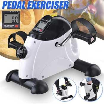 Mini Pedal Stepper máquina de ejercicio pantalla LCD interior bicicleta Stepper cinta de correr aparato de entrenamiento para el hogar Oficina gimnasio