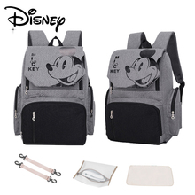 Disney Baby Diaper Bag Usb Diaper Backpack for Mom Fashion Mummy Maternity Nappy Bag Large Capacity Stroller Bag Baby Nappy Bag lagaffe nappy bags large capacity baby diaper bag fashion maternity mummy bags and waterproof baby stroller bag wholesale