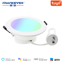 FrankEver Smart Wifi Led Downlight 10W SAA Certificated for Australia Tuya App Dimming Voice Control Work with Alexa