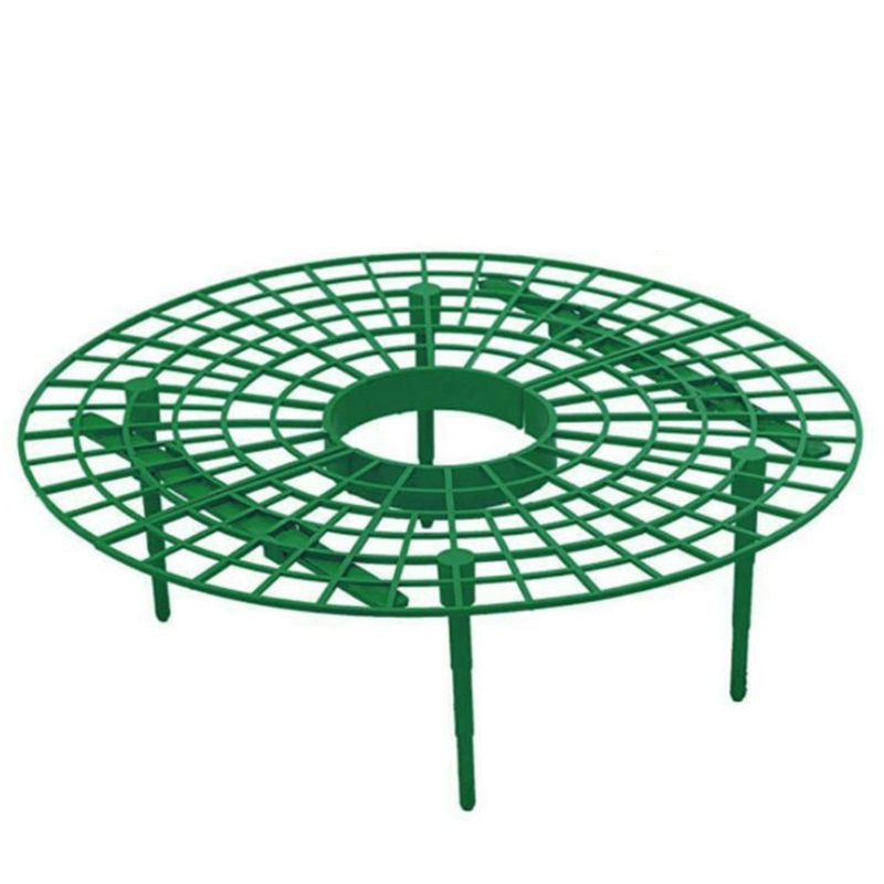 10pcs/set Plant Plastic Tool Strawberry Growing Circle Support Rack Farming Frame Gardening Vine Plants Cages Garden Supplies