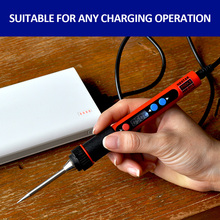 USB electric iron 5v portable charging treasure available soldering tool