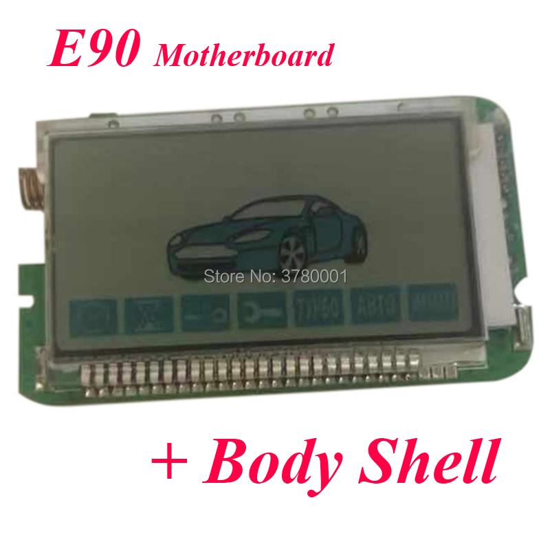 E90 LCD Remote Control Keychain For StarLine E90 Two Way Car Alarm System