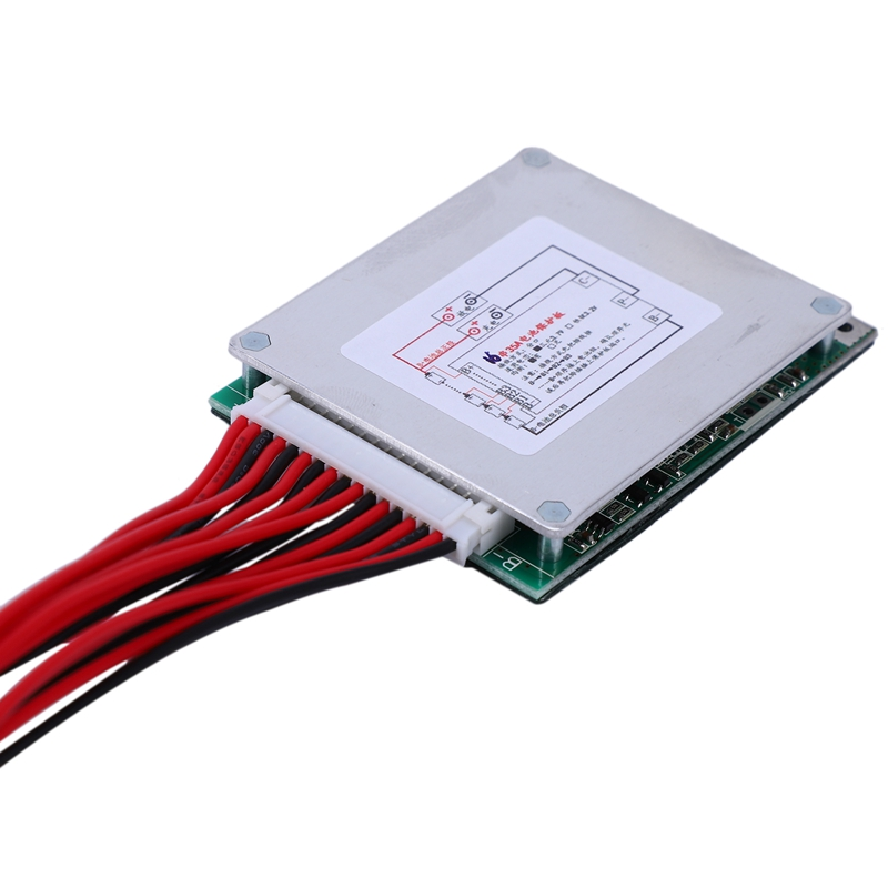 16S 60V 35A 18650 Lithium Li Polymer Battery Protection Board BMS PCB With Balance For E-Bike EScooter