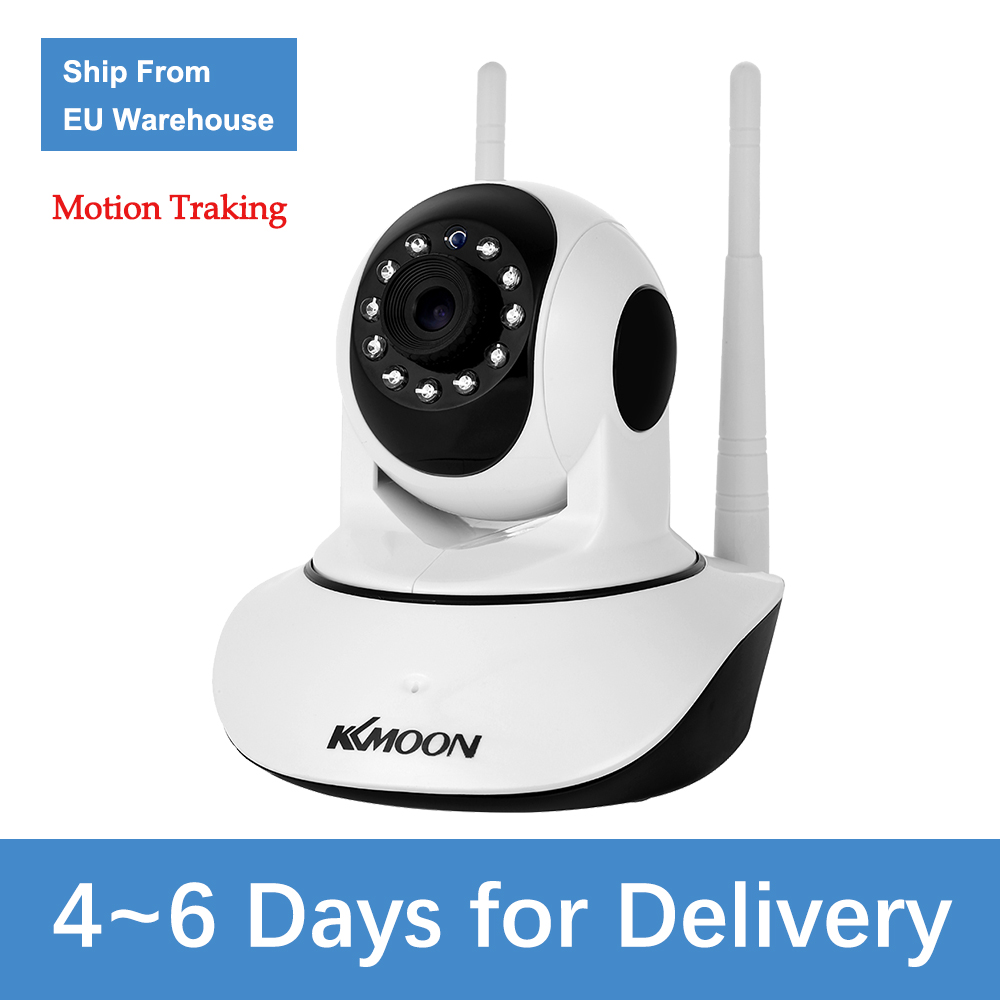 KKmoon 1080P Wireless WIFI Camera WIFI Pan Tilt HD IP Camera 2.0MP Two-way Audio Night Vision Motion Detection CCTV Camera