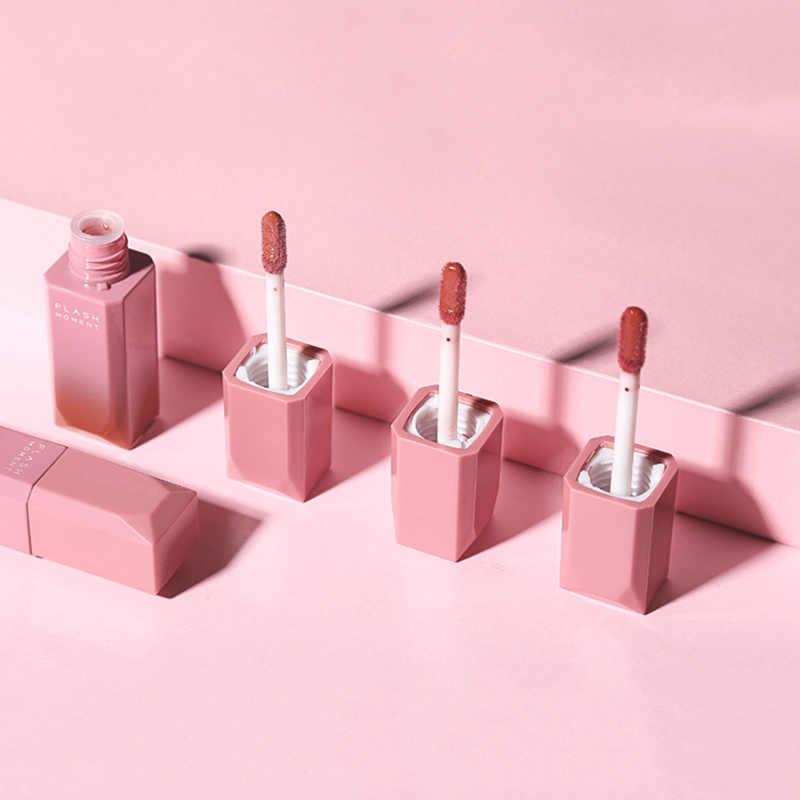 1 pièces Sexy Super brillant liquide rouge à lèvres humidité velours rouge brillant à lèvres 3D lèvres teinte imperméable maquillage beauté outils TSLM2