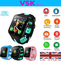 Fashion and Life Waterproof Kids Smart Watch GPS GSM Locator Touch Screen Tracker SOS For Children Safety For IOS and Android