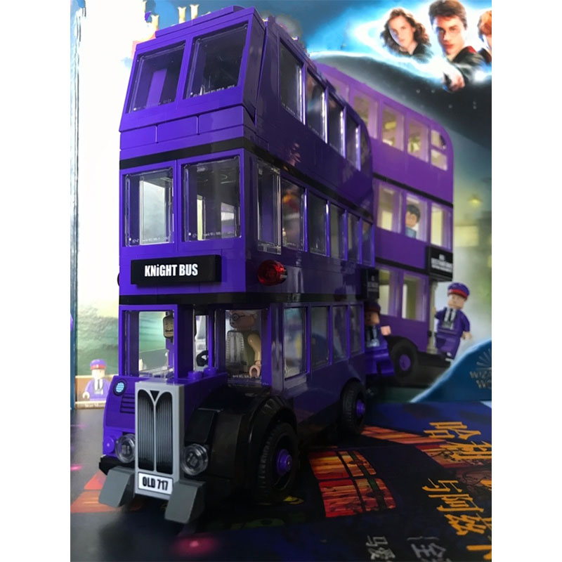 New Harri Castle Knight Bus Building Blocks Brick Educational Toys Compatible With Legoinglys Christmas