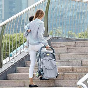 Image 2 - Passeggino multifunzionale passeggino ad alto paesaggio passeggino pieghevole passeggino neonato aereo leggero