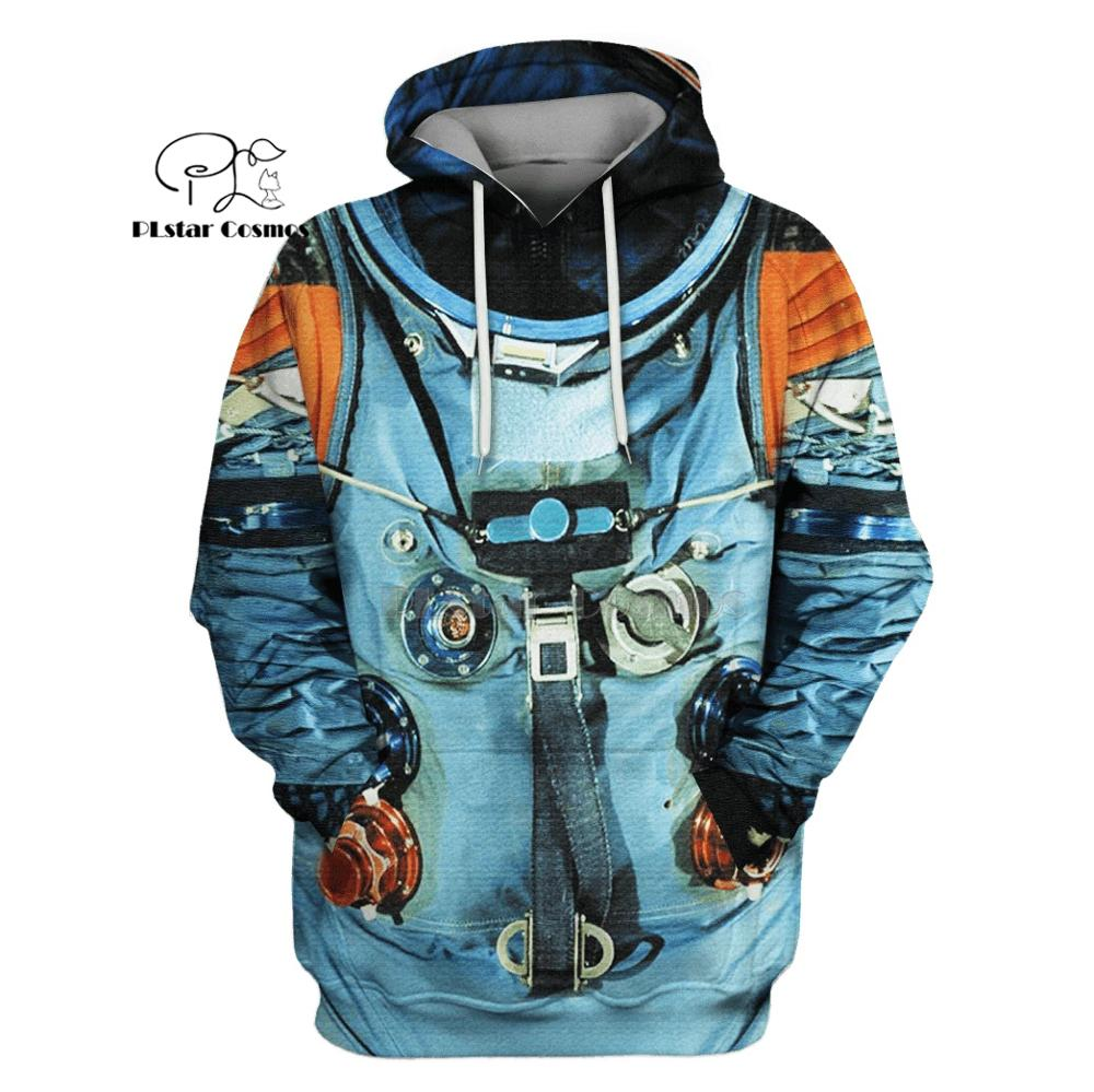 PLstar Cosmos Armstrong Space Suite Astronaut 3d Hoodies/Sweatshirt Winter Autumn Funny Harajuku Long Sleeve Streetwear