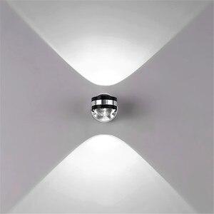 Image 4 - Đèn LED 6W Nhôm Đèn Đèn LED Nhà Đèn Đèn Tường Để Đầu Giường Phòng Khách Phòng Ngủ Đèn Treo Tường BL01 B