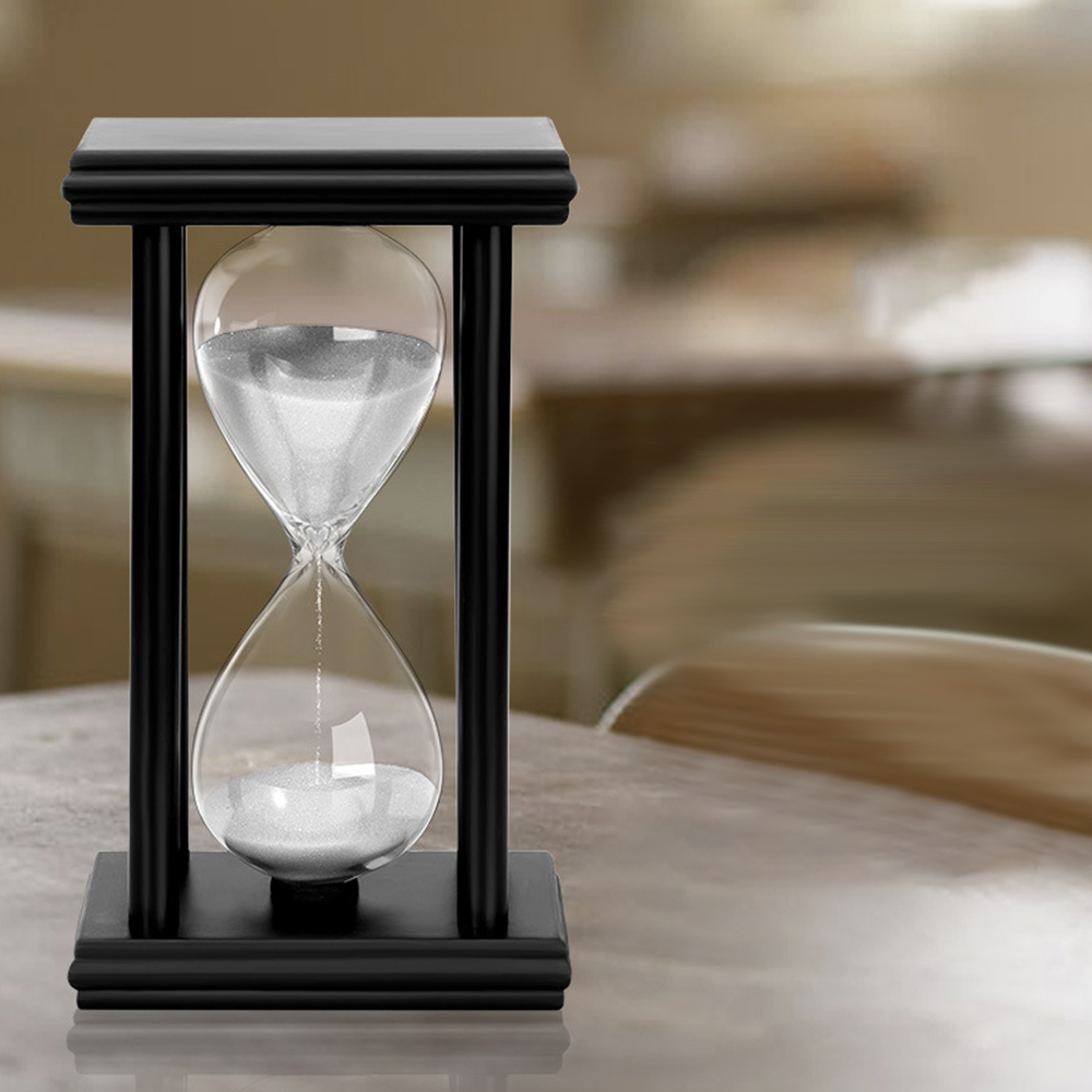 Wooden 15/30 Minute Glass Hourglass Timer Creative Home Craft Decoration New Strange Time Hourglass