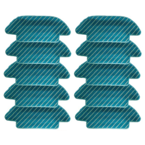 10 Pcs Fabric Mop Inserts for Conga 4090 Series Robot Vacuum Cleaner Accessories Fabric Mop Insert Kit
