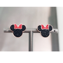 High quality 1:1 Swa cute mouse earrings; European and American womens jewelry; high-grade edition
