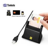 Lector de tarjetas SIM, escritor, contacto inteligente ISO7816 SDK, USB, EMV, Chip IC, lector/escritor de tarjetas inteligentes