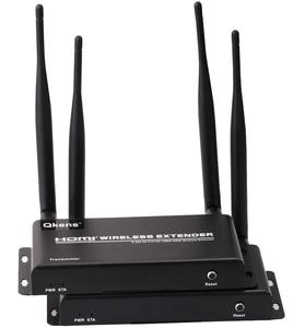 Image 2 - 5GHz Wireless Transmission HDMI Extender Transmitter Receiver Video Converter 100M 200M Remote Transfer HDMI Sender DVD PC To TV