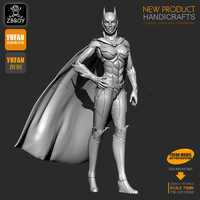 Kits de figuras de resina de 1/24 S Batman mujeres, soldado de resina auto-ensamblado 75MM TD-201980
