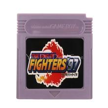 Para nintendo gbc cartão de console de cartucho de jogos de vídeo o rei dos lutadores 97 versão em inglês