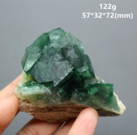 100% Natural green fluorite Mineral specimen cluster mineral crystal specimens Stones and crystals Healing crystal Free shipping