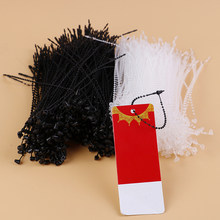 Commodity Pakaian Label Harga Label Tag Pin 1000Pcs Kunci Pin Keamanan Loop Plastik(China)