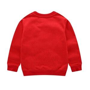 Image 4 - Autumn Winter Cartoon Elmo Printed Cotton Sets Baby Boys Clothing Sets Boys Girls Outfit Long Sleeve Shirt Pant