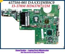 Hoge Kwaliteit 637584-001 Voor Hp Pavilion CQ62 CQ42 DAAX1JMB8C0 Serie Laptop Moederbord I3-370M HM55 HD6370/512M DDR3 Getest