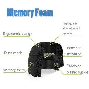 Image 2 - Defean almofada para fones de ouvido, almofada para fones de ouvido com espuma de memória para substituição de eartigos para airpods pro da apple