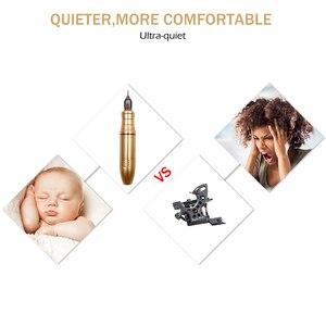 Image 4 - Biomaser Permanente Make Up Wenkbrauw Lippen Tattoo Machine Pen Apparaat Set Coreless Motor CTG001 Tattoo Gun Apparatuur Voor Tatoeëerder