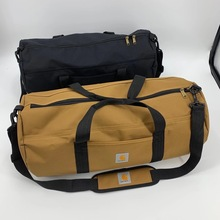 2-Piece Set Mens Canvas Bags Overnight Carhartt Travel Bags Large Capacity Luggage Wild Bag Leisure Handbags Shoulder Bags