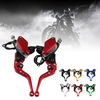 fx 7 8 50 550cc dirt pit bike motocross brake clutch lever master cylinder reservoir for aprilia rs50 1999 2005 aprilia rs125 1pair 22cm 7/8 Motorcycle Master Cylinder Levers Hydraulic Brake Pump Clutch Handles Handlebar Lever Reservoir Set Accessories