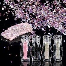 Дизайн ногтей хрустальные украшения Petites Pierres de Strass Mixte Acrylique Perles Elf 5 г