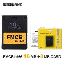 Bitfunx FMCB Freies McBoot Speicher Karte 16MB v 1,966 in neue version & neue funktion + 8/16/64/128MB speicher karte pack