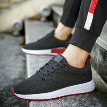 Mlcriyg 2019 Men Sneakers Breathable Casual No-slip Running Shoes Male Lace Up Wear-resistant sport Feminino Masculino
