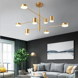 Image 5 - Restaurant Plafondverlichting Woonkamer Slaapkamer Eetkamer Keuken Lamp Lamparas Verlichting Armatuur Led Nordic Plafondlamp