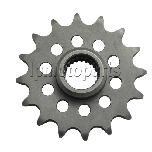 LOPOR 520-16T Motorcycle <font><b>Parts</b></font> Front Sprocket For <font><b>Yamaha</b></font> <font><b>XJ600</b></font> <font><b>XJ600</b></font> S-D <font><b>XJ600</b></font> N 4KE <font><b>XJ600</b></font> N4KF5 image