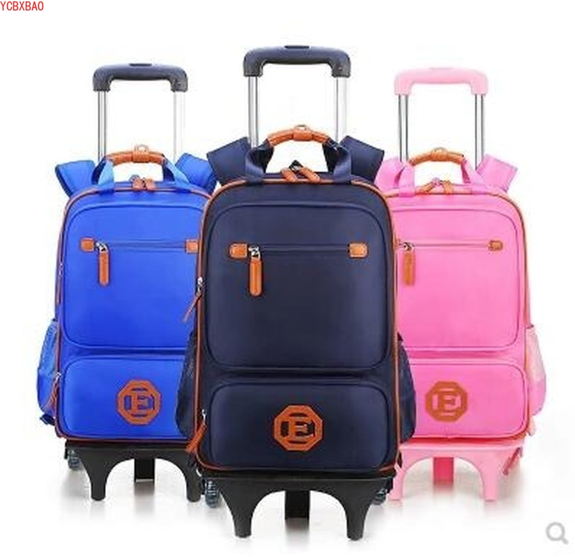 Kids Trolley Backpack Bag Children Travel Wheeled Backpack On Wheels Trolley Backpack For School Girls Rolling Bag With Wheels