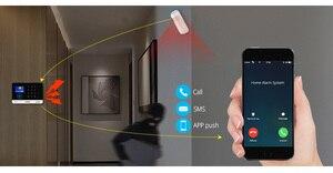 Image 3 - 2020 nuovo FUERS WIFI Senza Fili di GSM di Sicurezza Domestica Sistema di Allarme APP di Controllo Sirena RFID Rilevatore di Movimento PIR Sensore di Fumo FAI DA TE kit