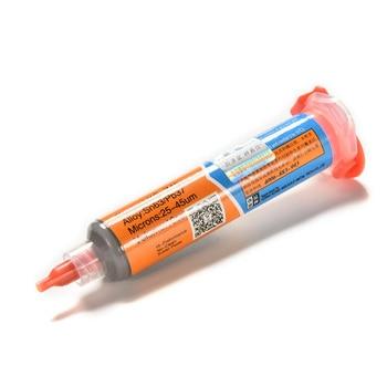 XG-Z40 10cc Syringe Solder Paste Tin Cream Welding Solder BGA Flux For Soldering Welding Tool Welder Repair Rework 1pc 50g tin paste lead soldering aid accessories solder paste soldering fulx for bga rework