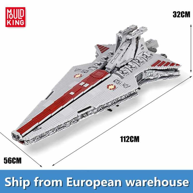 Mold King Building Blocks The UCS ST04 Star repubblica Attack Cruiser model set mattoni bambini educativi giocattoli fai da te regali di natale