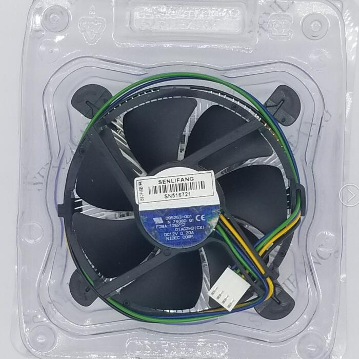 For Original F09A-12B7S2 D95263-001 Intel CPU 1155/1150/1156 Cooler Cooling Fan Free Shipping