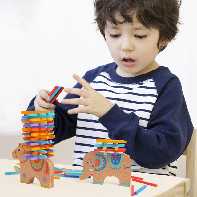 MiDeer-40pcs-Kids-Wooden-Toys-Math-Toys-Shapes-3Y-Math-Gifts-Educational-Toys-for-Blance-Practise