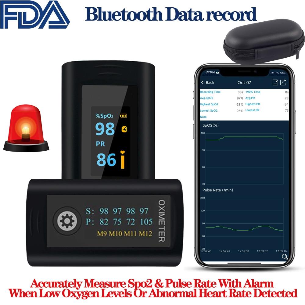 Управление по санитарному надзору за качеством пищевых продуктов и медикаментов Bluetooth палец Пульсоксиметр мониторинг сна будильник кислор...