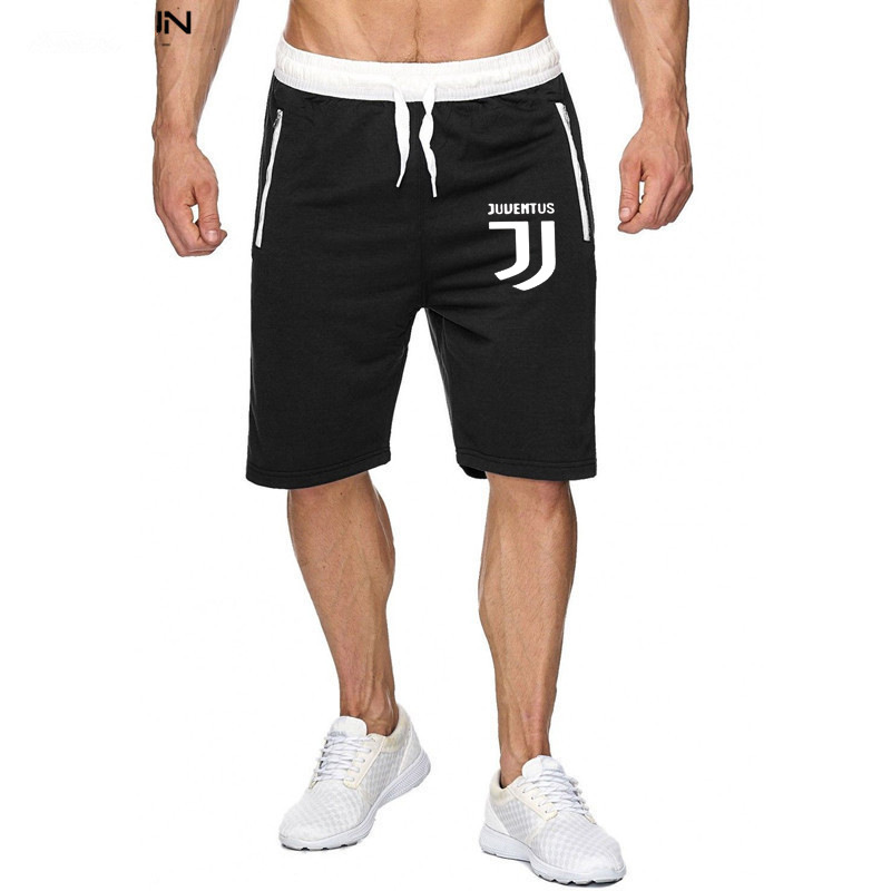 Hot Selling Brand Summer MEN'S Beach Pants Casual Mixed Colors Zipper Shorts Short Breathable Training Pants Athletic Pants