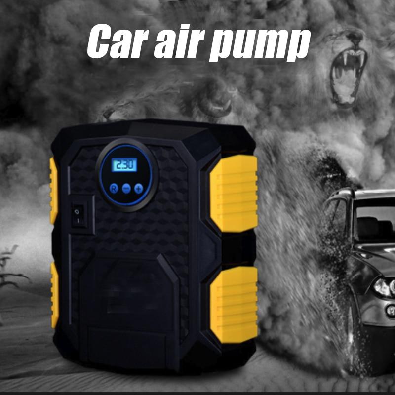 Mini Compresor 12v With LED light Car Digital Tire Inflator Air Compressor Pump 150 PSI Car Air Compressor for Car Motorcycles