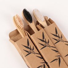 Wooden Toothbrush Oral-Care Bamboo-Handle Healthy-Products Eco-Friendly Dental-Cleaning
