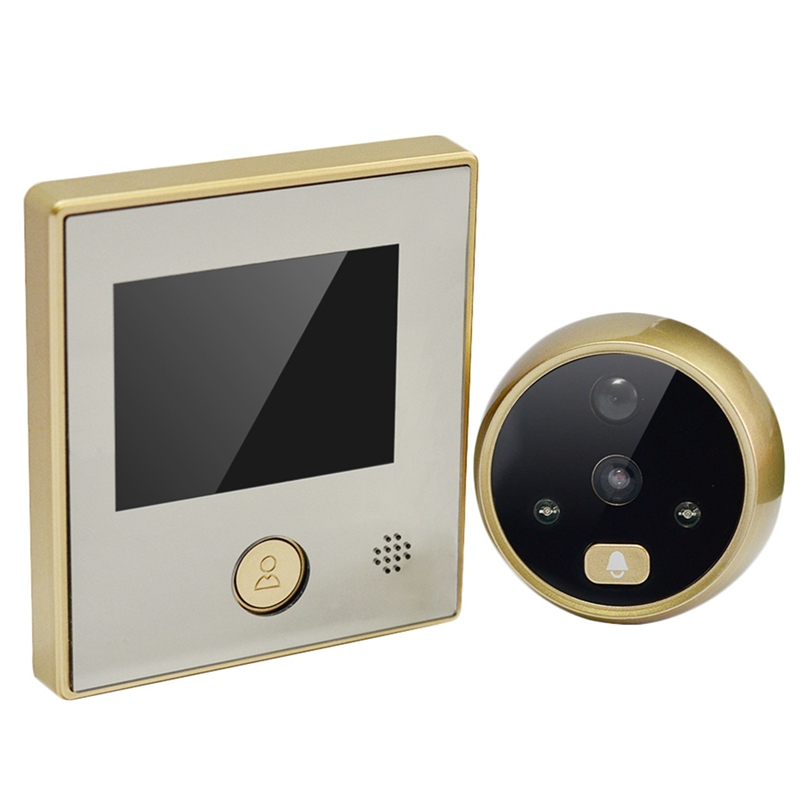 30W Pix Ir Camera Tft 2.8 Inch Lcd Digital Door Eye Peephole Viewer Doorbell Camera Night-Vision Photo Taking Long Standby